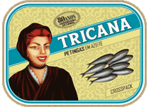 "Small Portuguese Sardines in Oilve Oil ""Crosspack"""